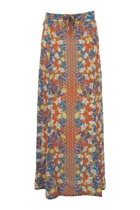 Orange Blossom Maxi Skirt