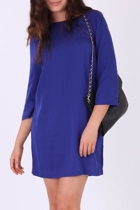 Ping Pong Silk Tunic Dress