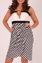 Ping Pong Stripe Race Dress