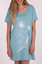 Feather Print Sleep Tee