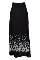 ROSIE Maxi Skirt Place M Bird