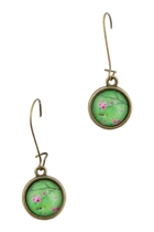 Bird In A Tree Drop Earrings
