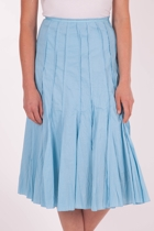 Vertical Seam Voile Skirt