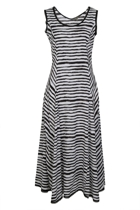 S/Less Stripe Dress