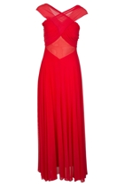 Diva Cross Maxi Gown