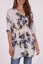Tropical Overcut S/S Kaftan