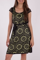 Flower Laser Cut Dress