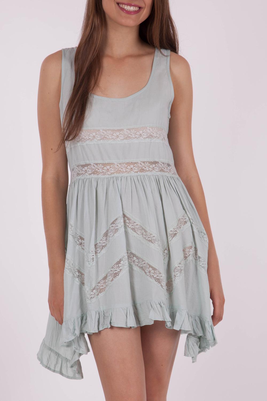 Living Doll Cool Mint Dress
