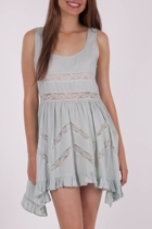 Living Doll Cool Mint Dress
