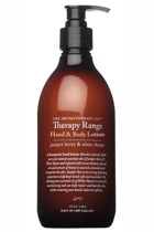 Therapy healing 500ml hand   body lotion juniper berry   white thyme small2