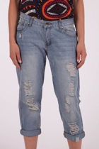 Lucy Mid Length Denim Jean