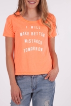 Making Mistakes Tee