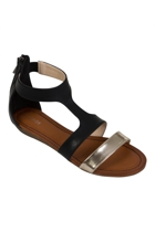 Young Wedge Sandal