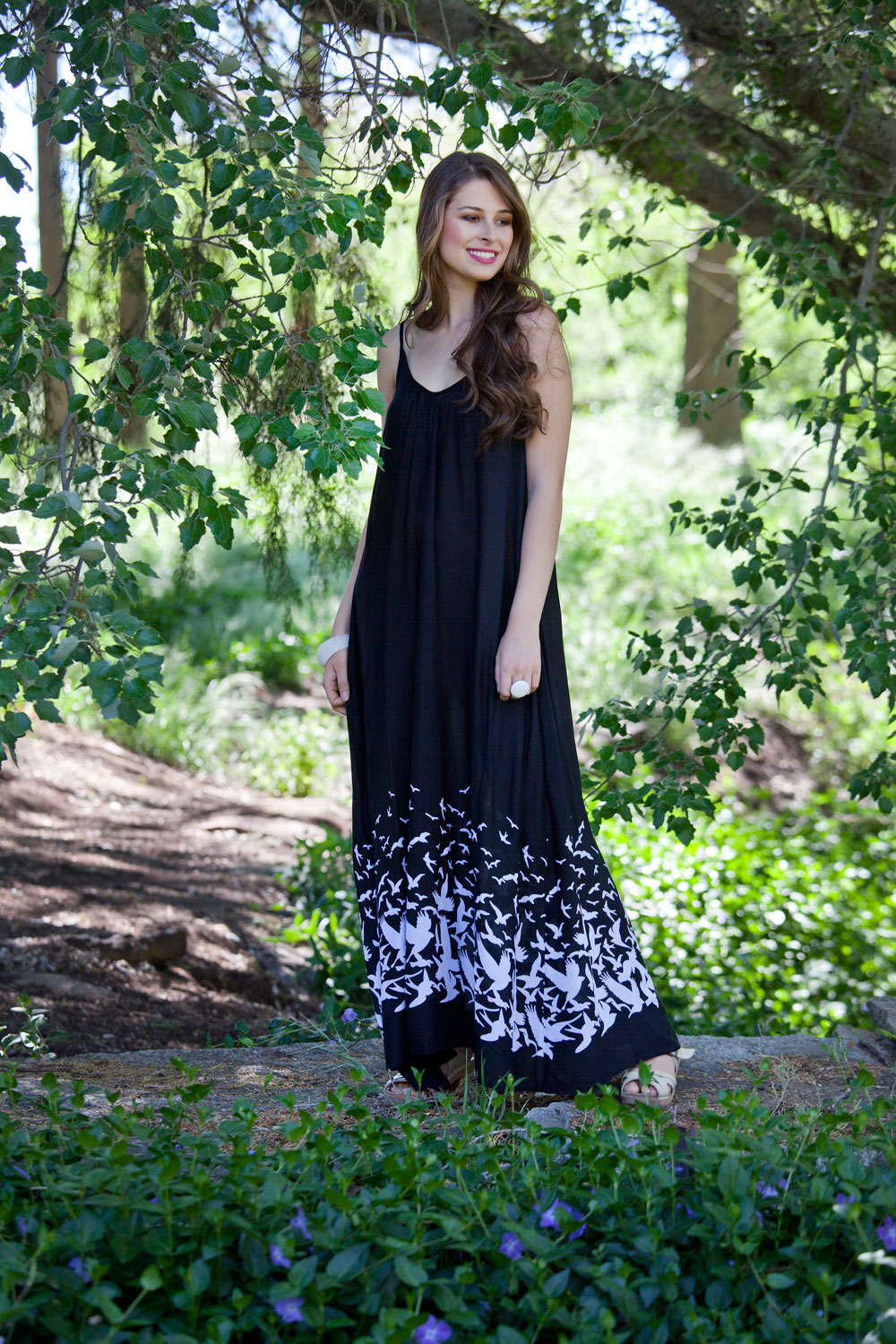 that bird label BONNIE Maxi Dress Place M Bird