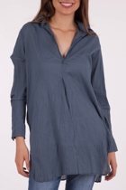 Loose Kurta Plain Top