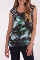 Palm Splice Top