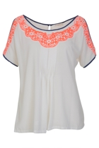 Freida Embroidered Top