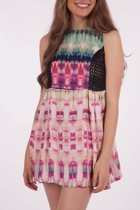 Ikat Temple Dress