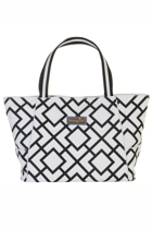 Beach bag bondi black white small2
