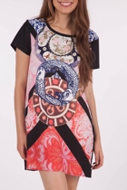 Lucky Koi Tee Dress