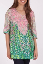 Yarra Trail Elbow Sleeve Tunic