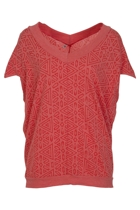 Graphic Cocoon Tunic