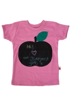 Apple Art Tee & Chalk Set