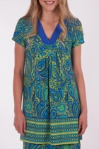 Clarity By Threadz Paisley Tonic Tunic