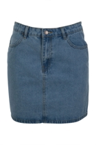 Forever Denim Mini Skirt
