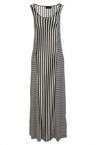 Thug Life Stripe Maxi Dress