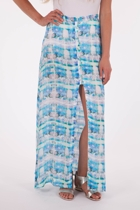 Static Shock Maxi Skirt