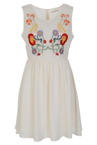 Folklore Embroided Dress