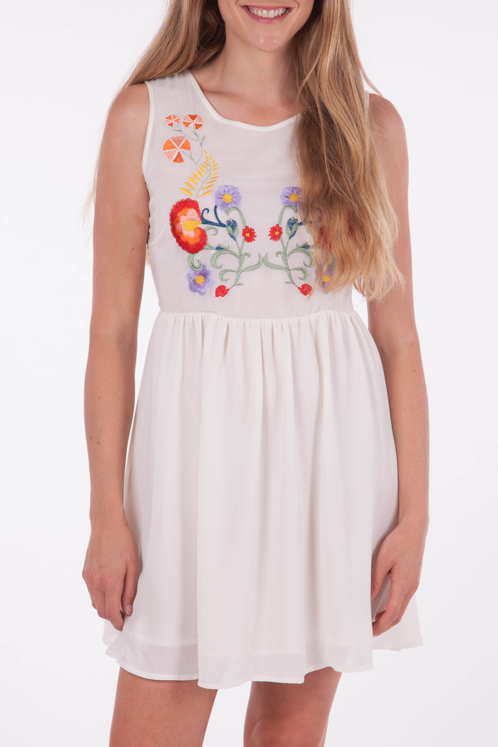 Sass Folklore Embroided Dress