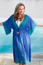 Rio Embroided Maxi Dress