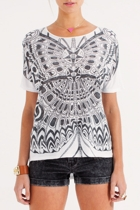 Tribal Butterfly Tee
