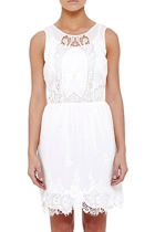 Cutwork Dress