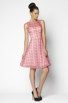 Gracie Daisy Organza Cocktail Dress