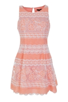 Misty Lace Dress