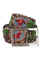Cotton Embroidered Belt