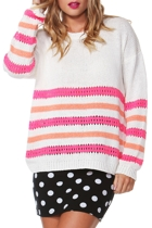Hannah Stripe Knit