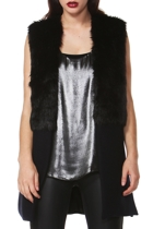 Valentina Fur Spliced Vest