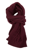 Berry Warm Scarf