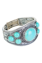 Navaho Stone Circles Patterned Cuff