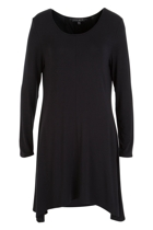 Serena L/S Roll Cuff Swing Dress