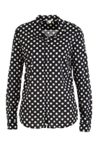 Dot L/S Blouse