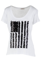 Independence Sequin Flag Tee