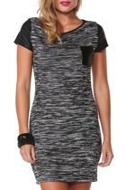 Flatlines Pocket Dress