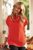 Chunky S/L Cowl Neck Pull Over
