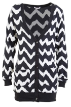 Chevron Waves Cardi