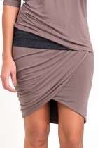 Plaza Gathered Skirt
